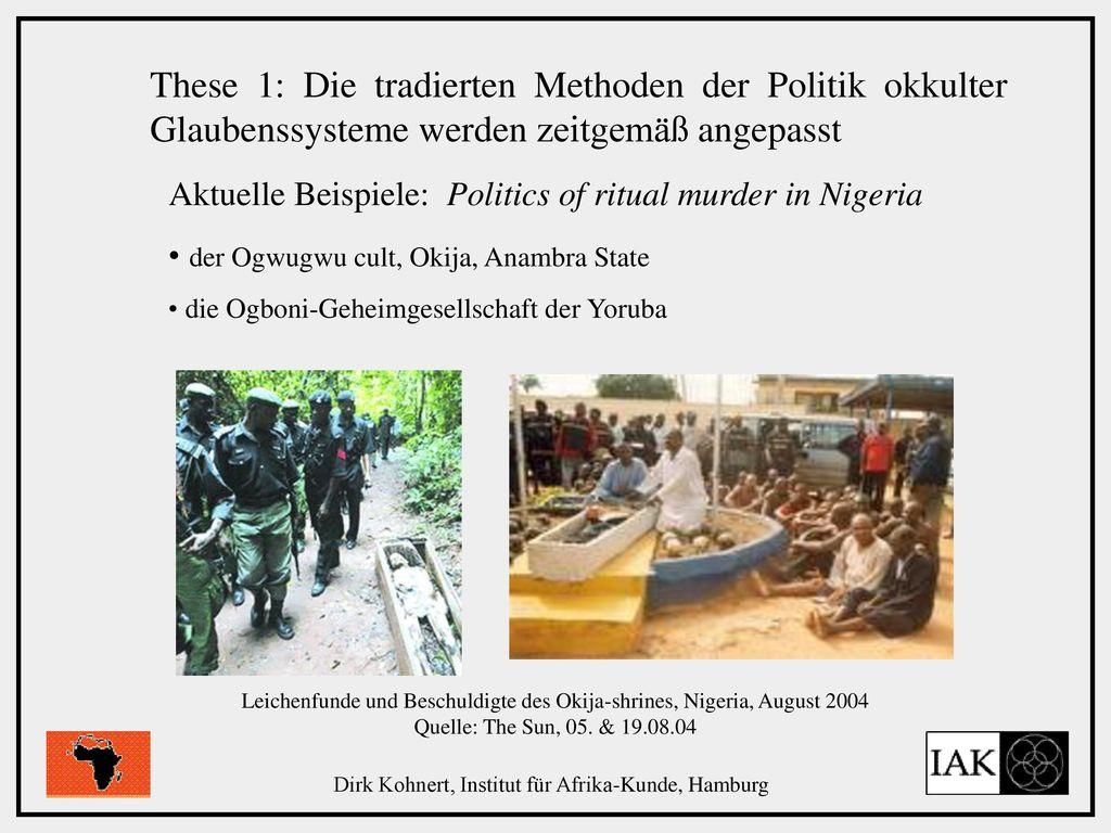 Dirk Kohnert, Institut für Afrika-Kunde, Hamburg