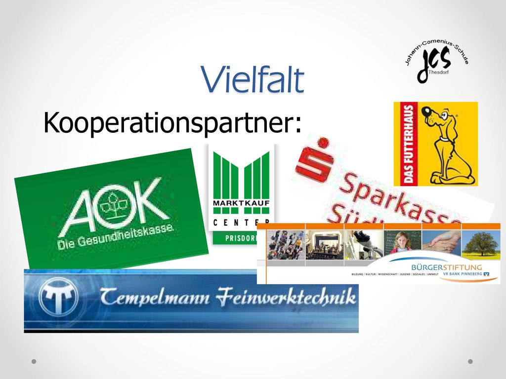 Vielfalt Kooperationspartner: