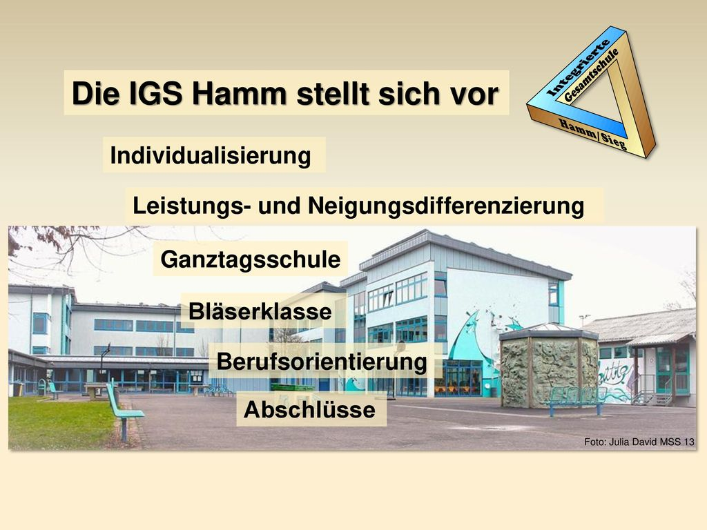 Die IGS Hamm stellt sich vor