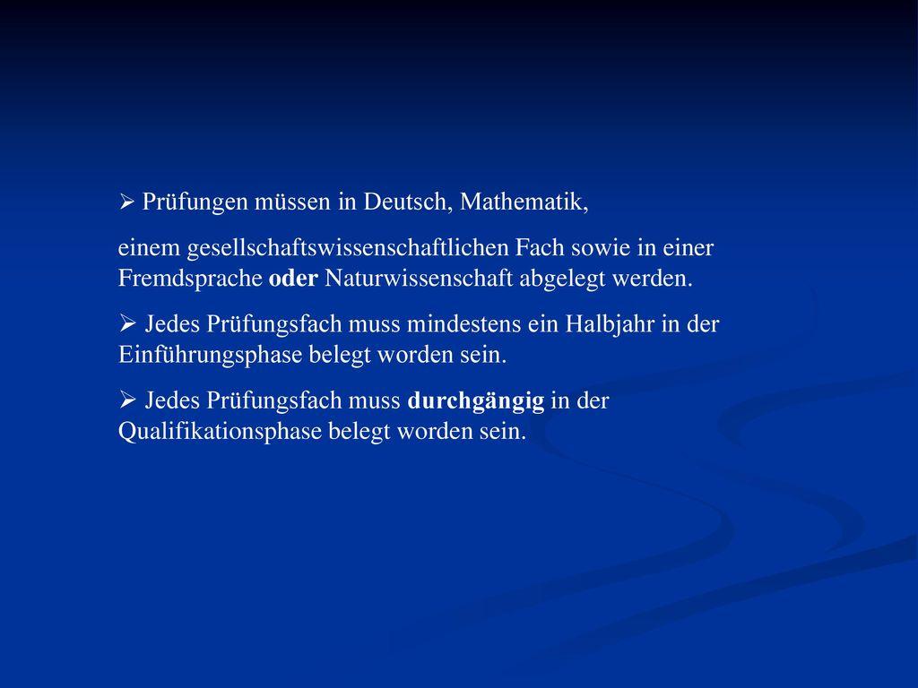 Sonstiges: Studienbuch: §6 Abs. 2