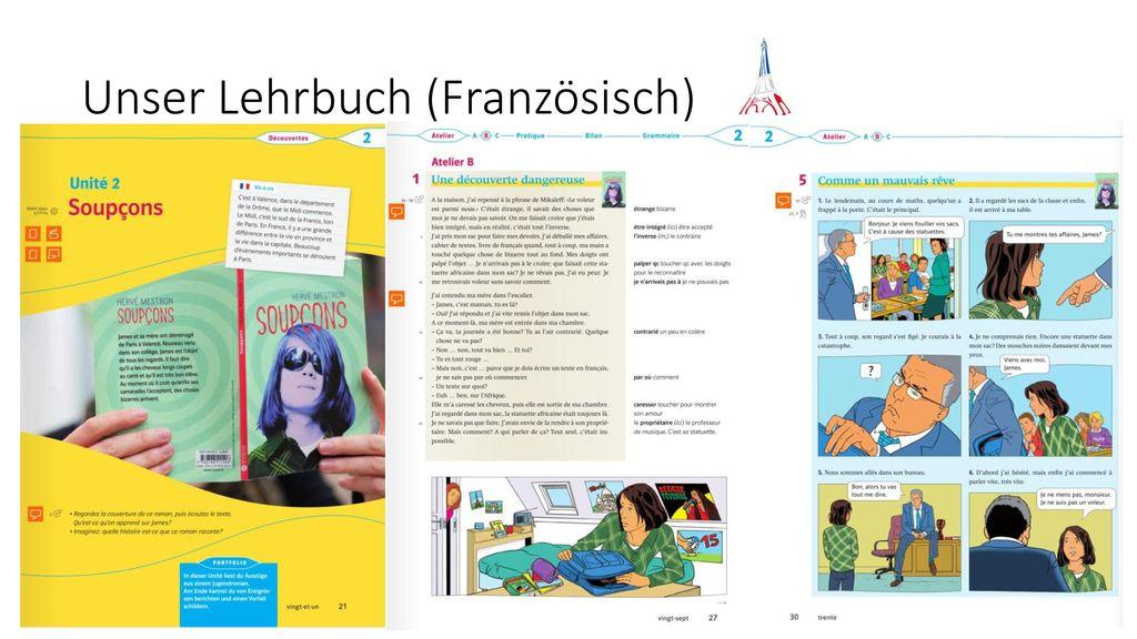 Unser Lehrbuch (Französisch)