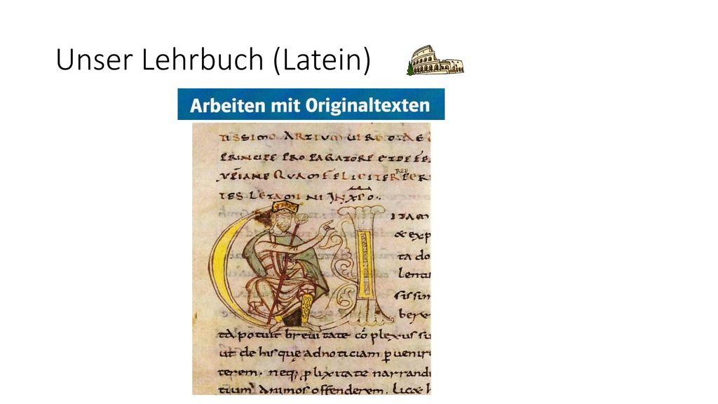 Unser Lehrbuch (Latein)