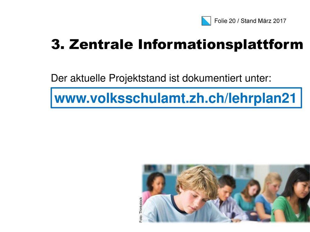 3. Zentrale Informationsplattform