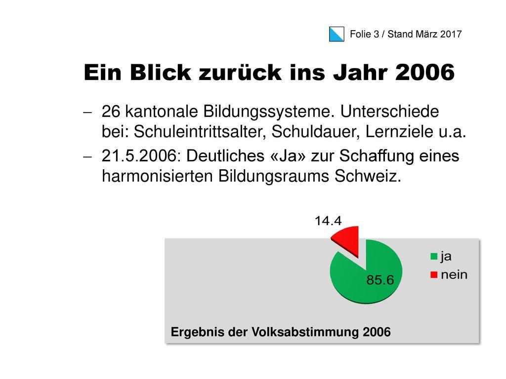 Ein Blick zurück ins Jahr 2006