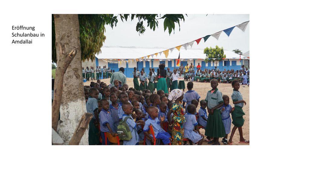 Eröffnung Schulanbau in Amdallai