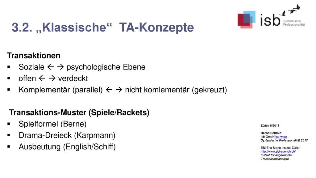 "3.2. ""Klassische TA-Konzepte"