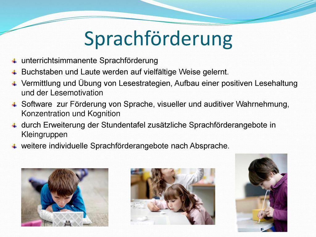 Sprachförderung unterrichtsimmanente Sprachförderung