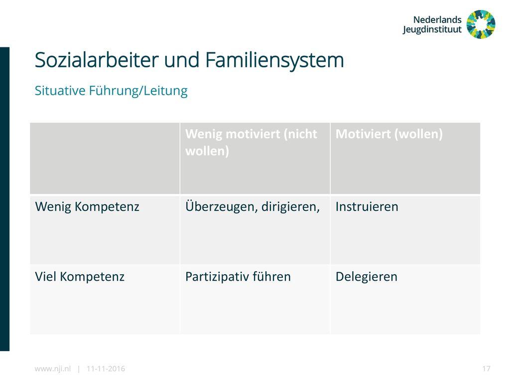 Sozialarbeiter und Familiensystem
