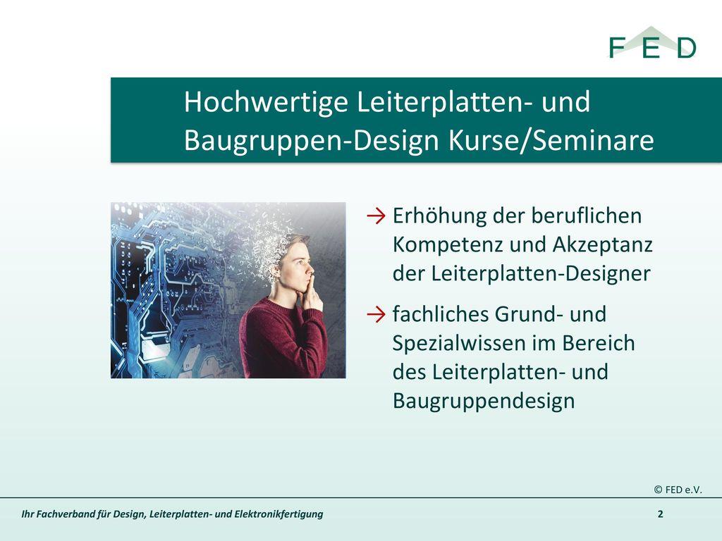 Hochwertige Leiterplatten- und Baugruppen-Design Kurse/Seminare
