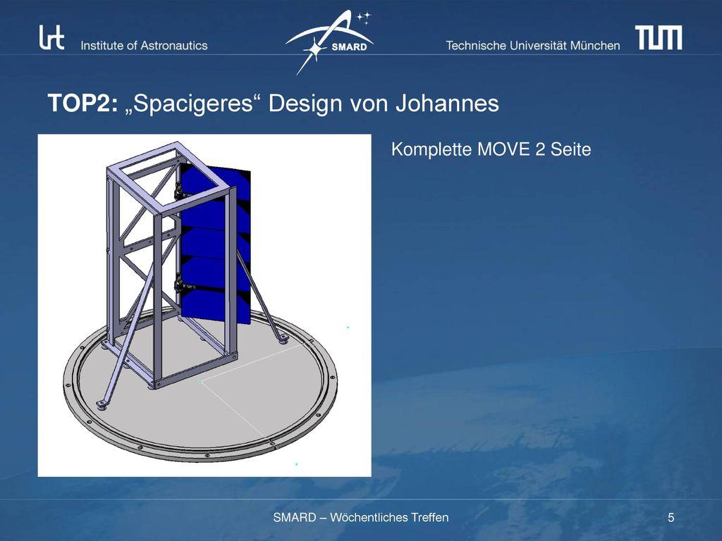 """TOP2: """"Spacigeres Design von Johannes"""