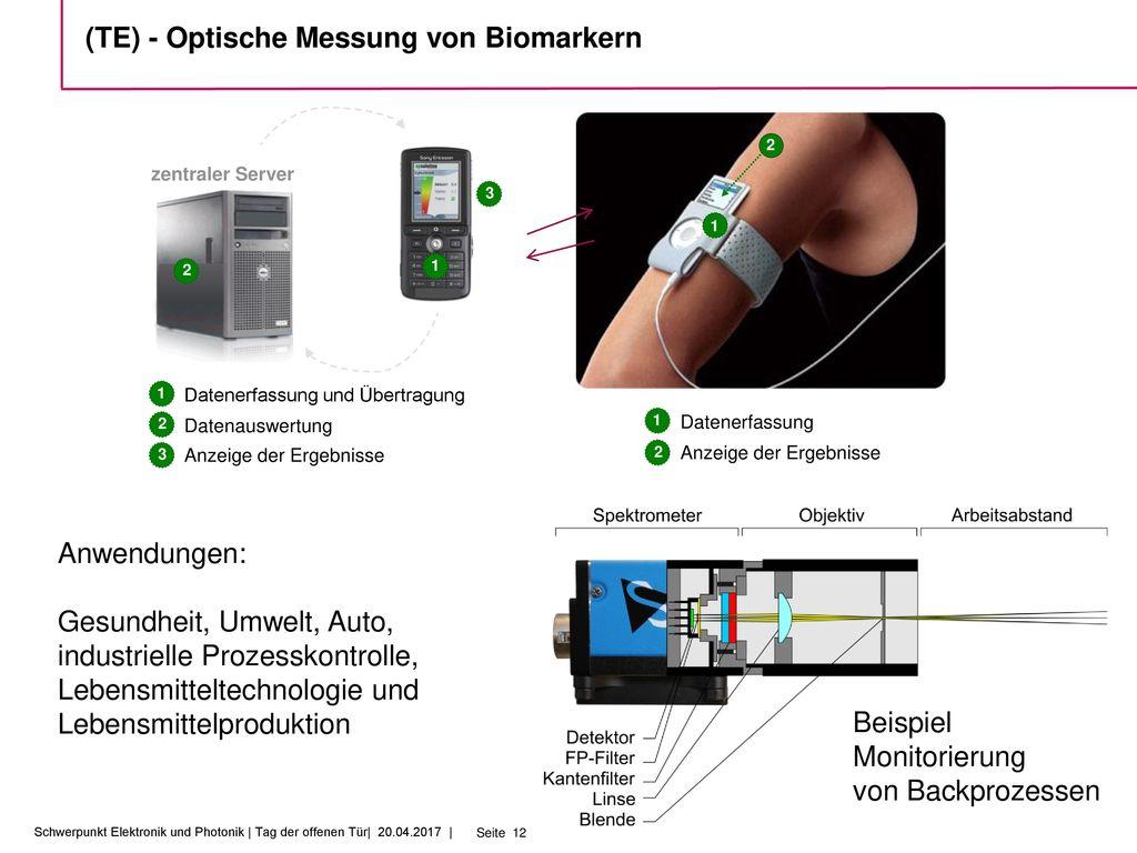 (TE) - Optische Messung von Biomarkern