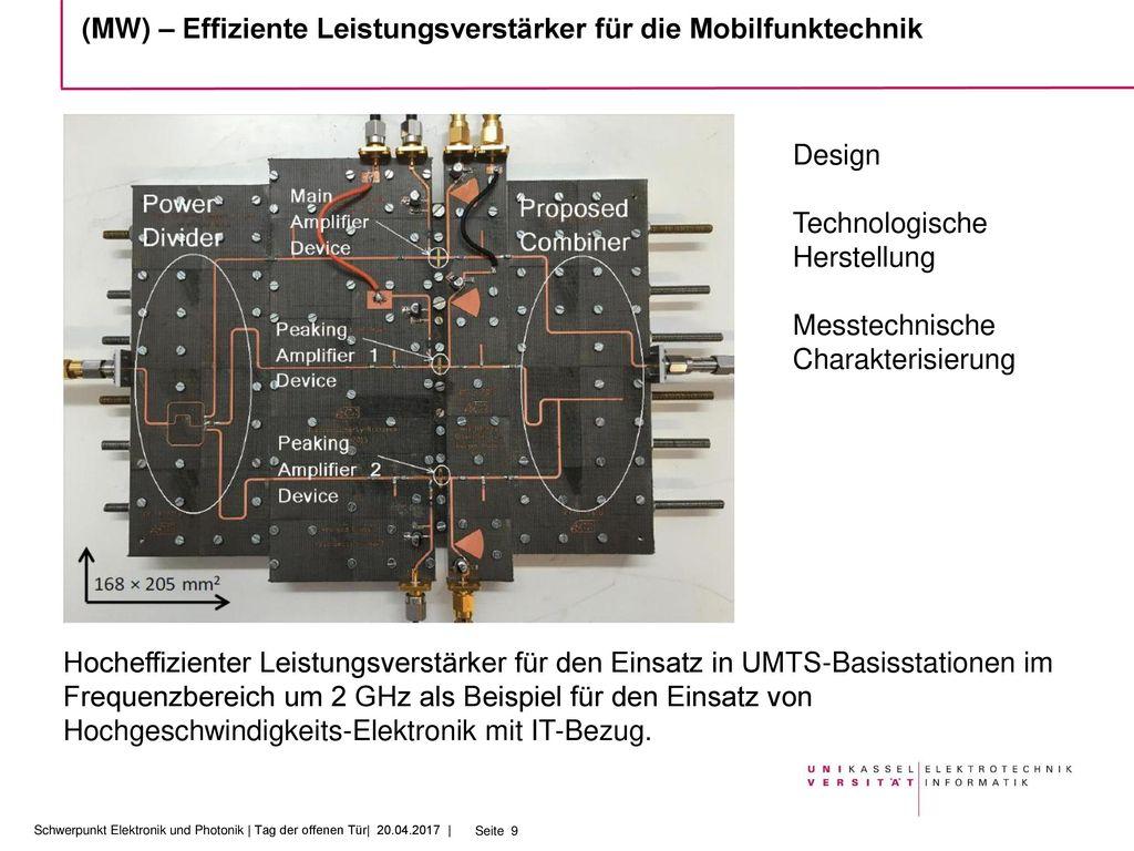 (MW) – Effiziente Leistungsverstärker für die Mobilfunktechnik