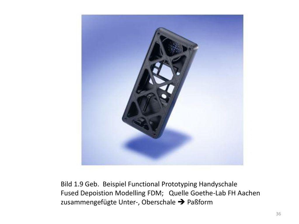 Bild 1.9 Geb. Beispiel Functional Prototyping Handyschale