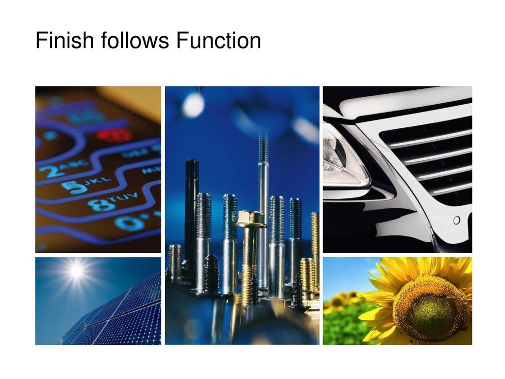 Finish follows Function
