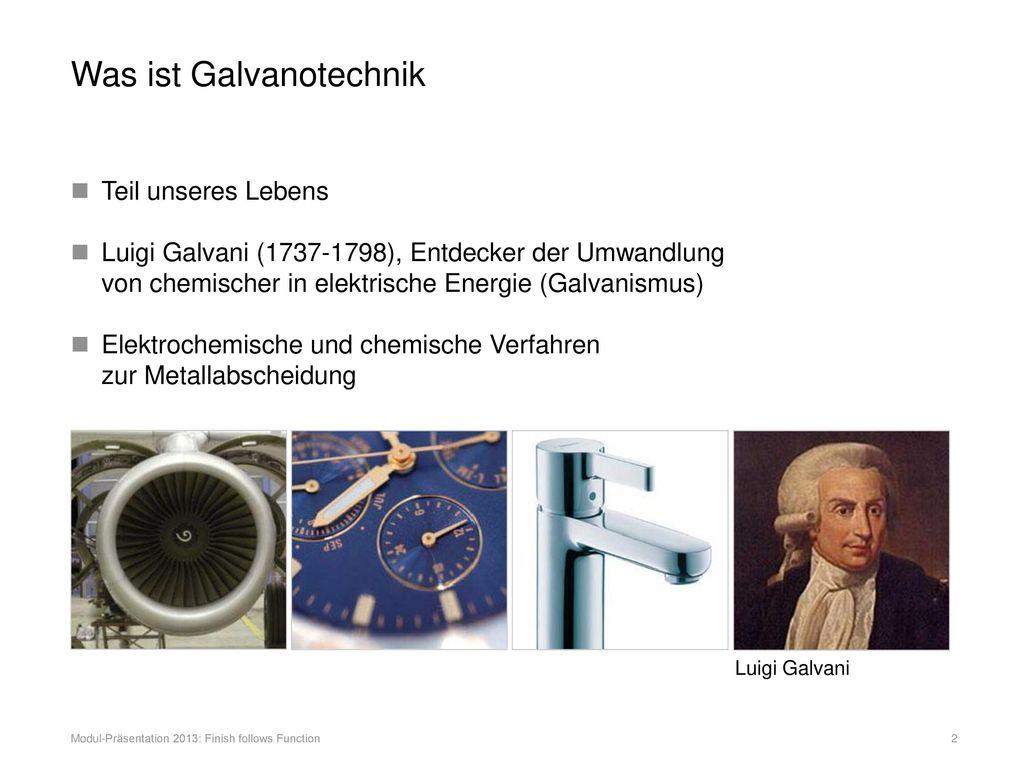 Was ist Galvanotechnik