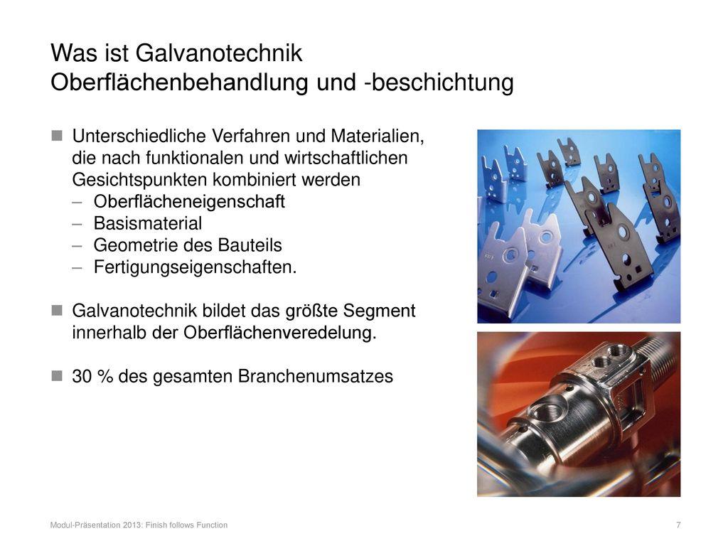 Was ist Galvanotechnik Oberflächenbehandlung und -beschichtung