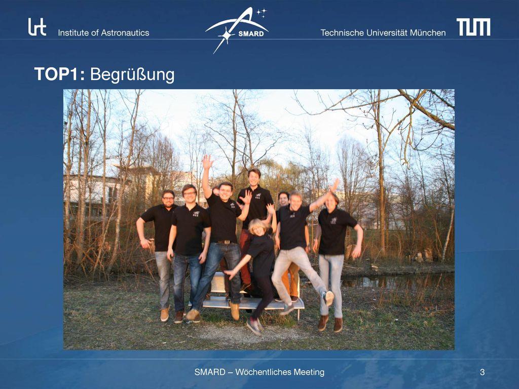 SMARD – Wöchentliches Meeting