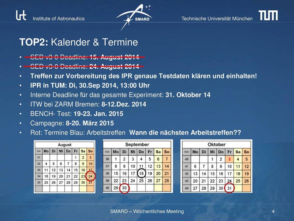 TOP2: Kalender & Termine