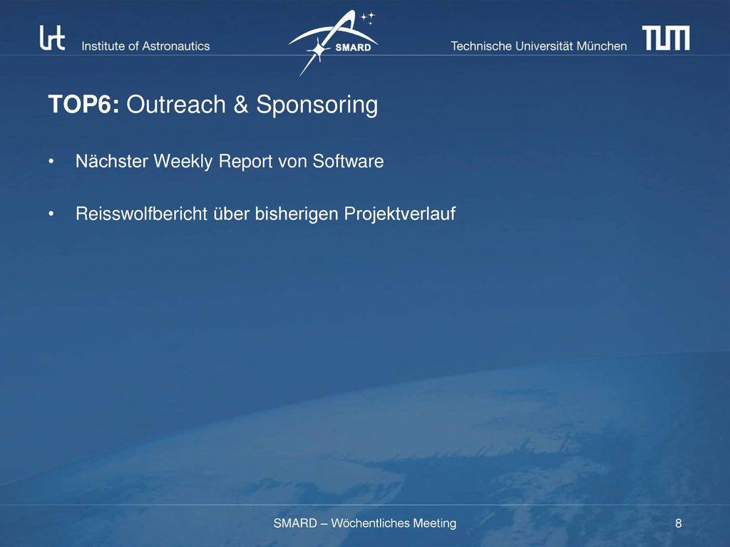 TOP6: Outreach & Sponsoring