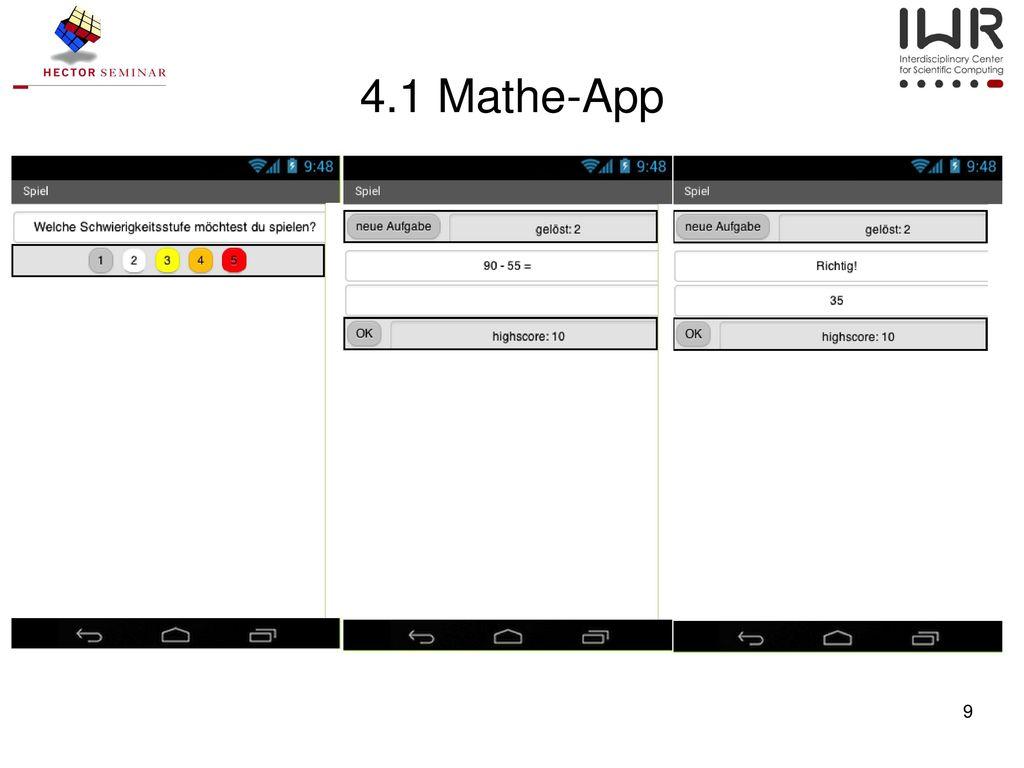 4.1 Mathe-App