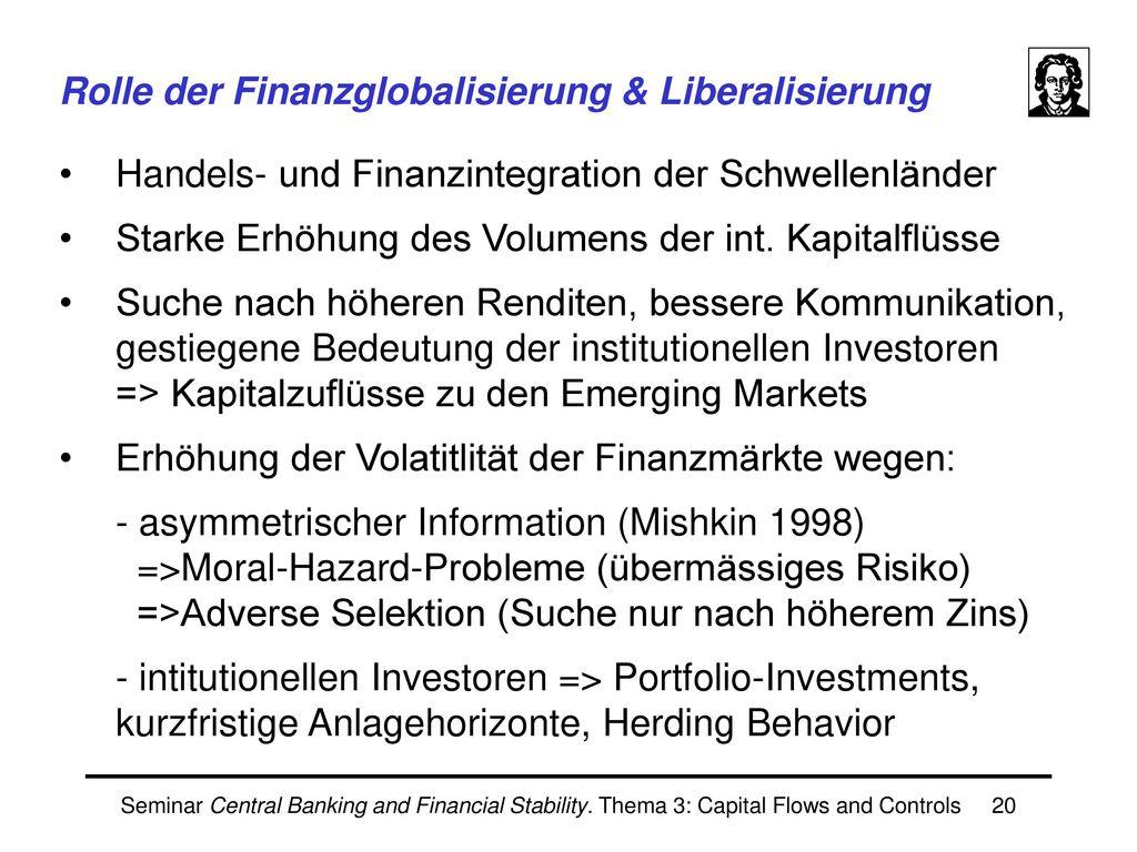 Modelle von Finanzkrisen