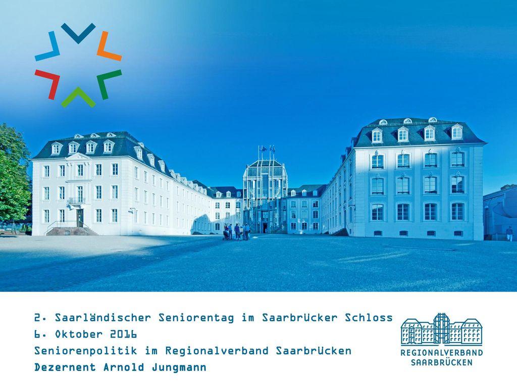 2. Saarländischer Seniorentag im Saarbrücker Schloss