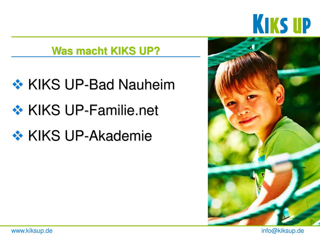 KIKS UP-Bad Nauheim KIKS UP-Familie.net KIKS UP-Akademie