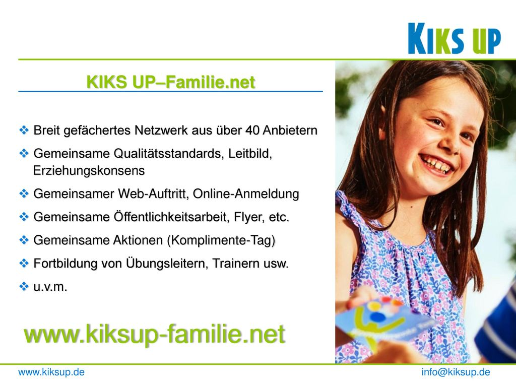 KIKS UP–Familie.net