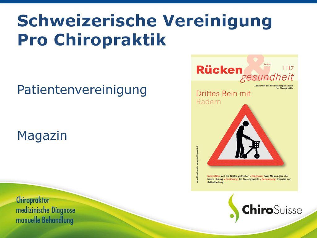 Schweizerische Vereinigung Pro Chiropraktik