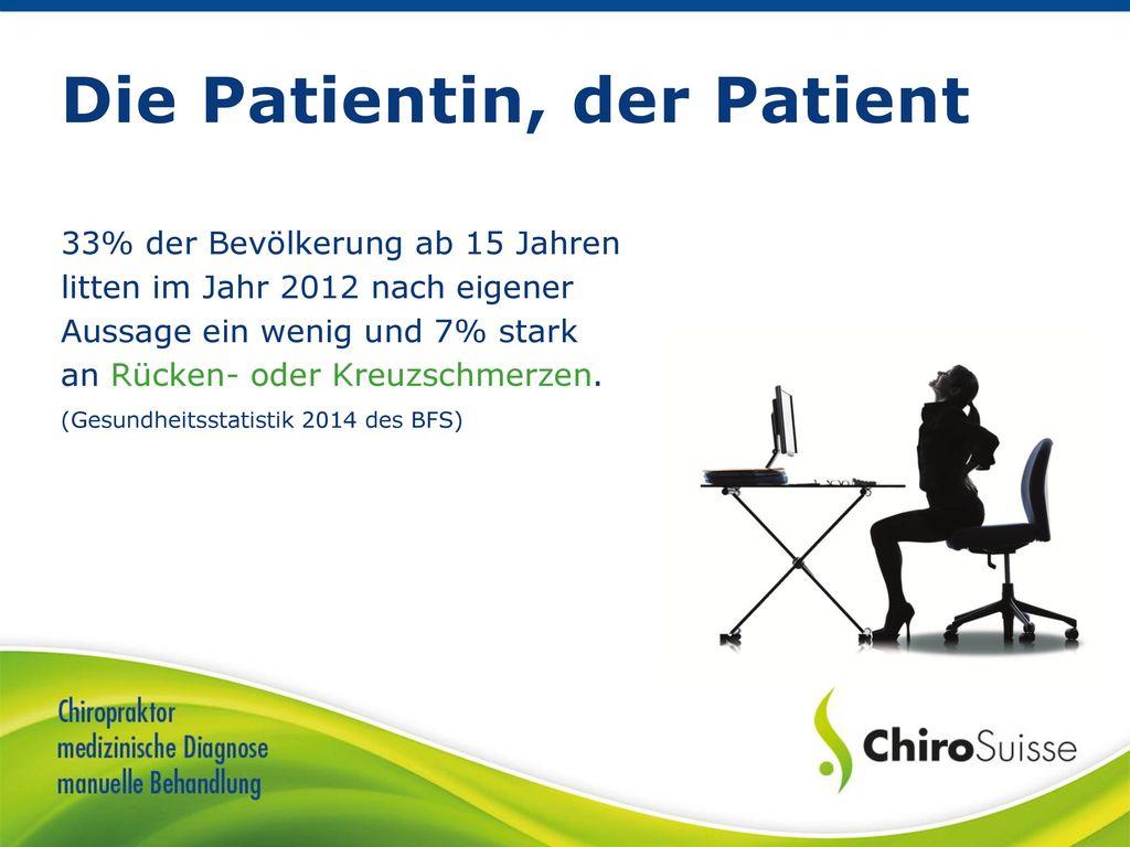Die Patientin, der Patient