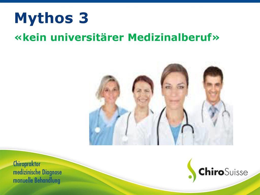 «kein universitärer Medizinalberuf»