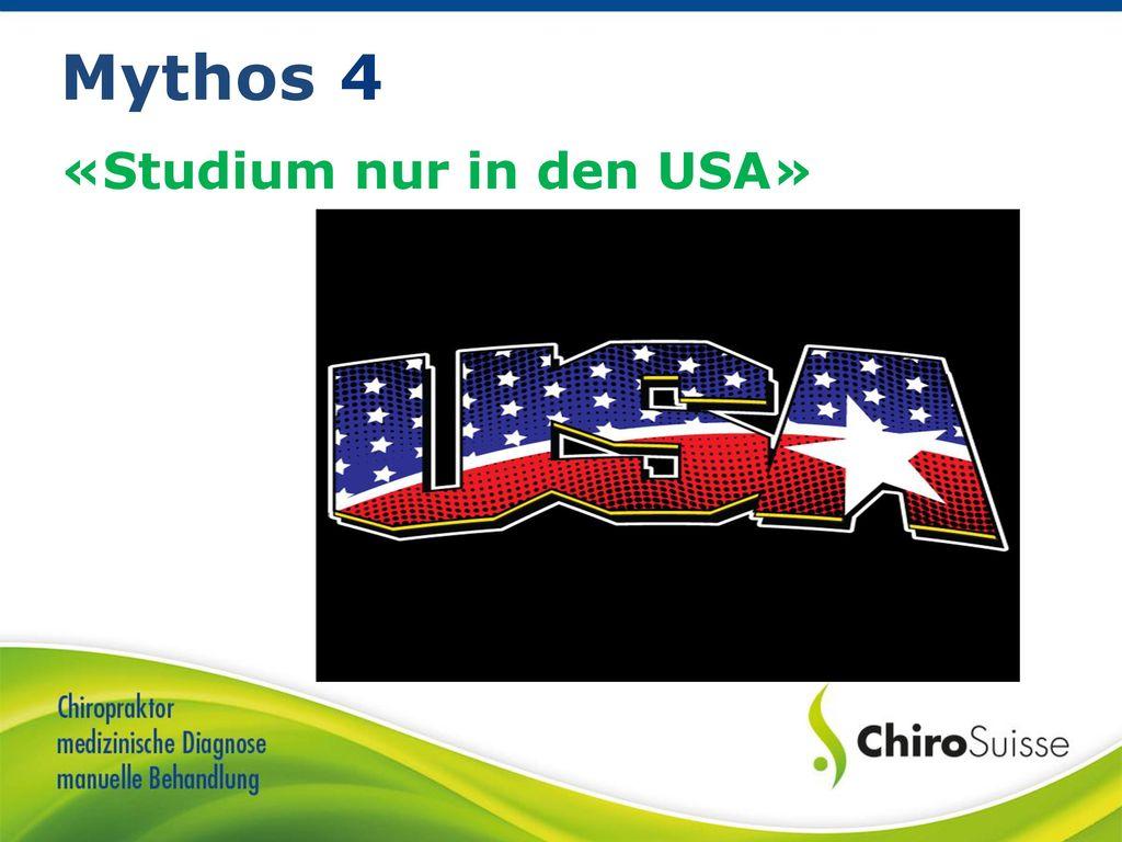«Studium nur in den USA»