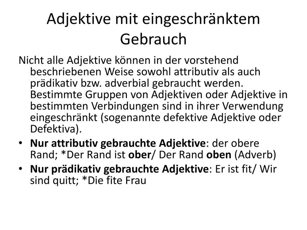 Fantastisch Adjektiv Und Adverb Arbeitsblatt Zeitgenössisch - Super ...