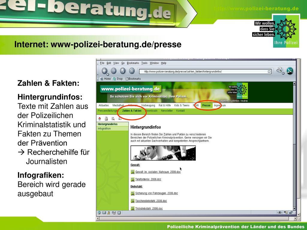 Internet: www-polizei-beratung.de/presse