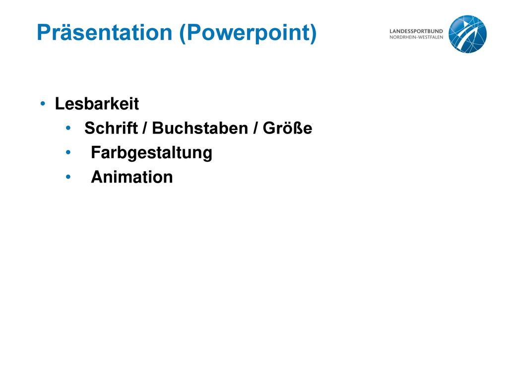 Präsentation (Powerpoint)