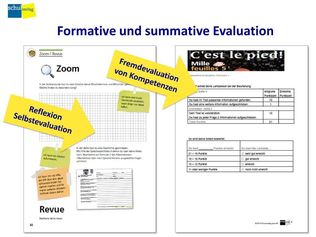 Formative und summative Evaluation