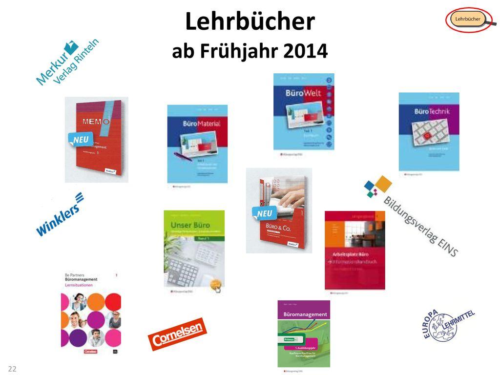Lehrbücher ab Frühjahr 2014