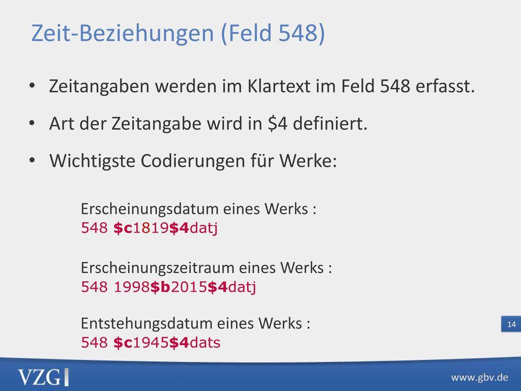 GND-Pflichtfelder Tu (Werke)