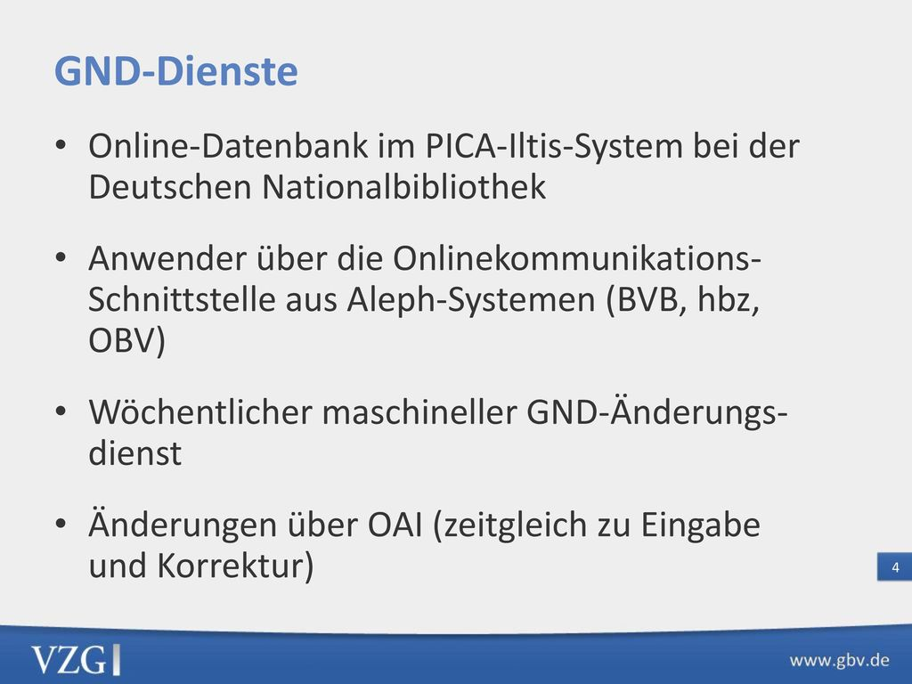 GND-Format Das Modell Entity–Relationship–Modell (ERM)