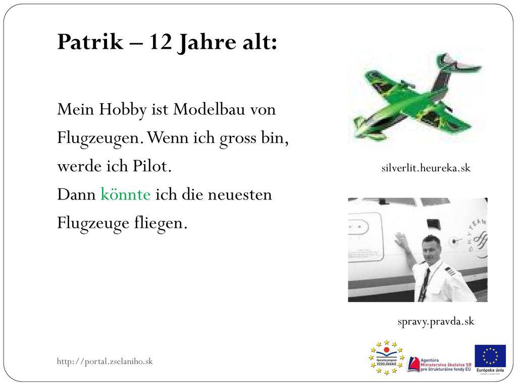 Patrik – 12 Jahre alt: Mein Hobby ist Modelbau von