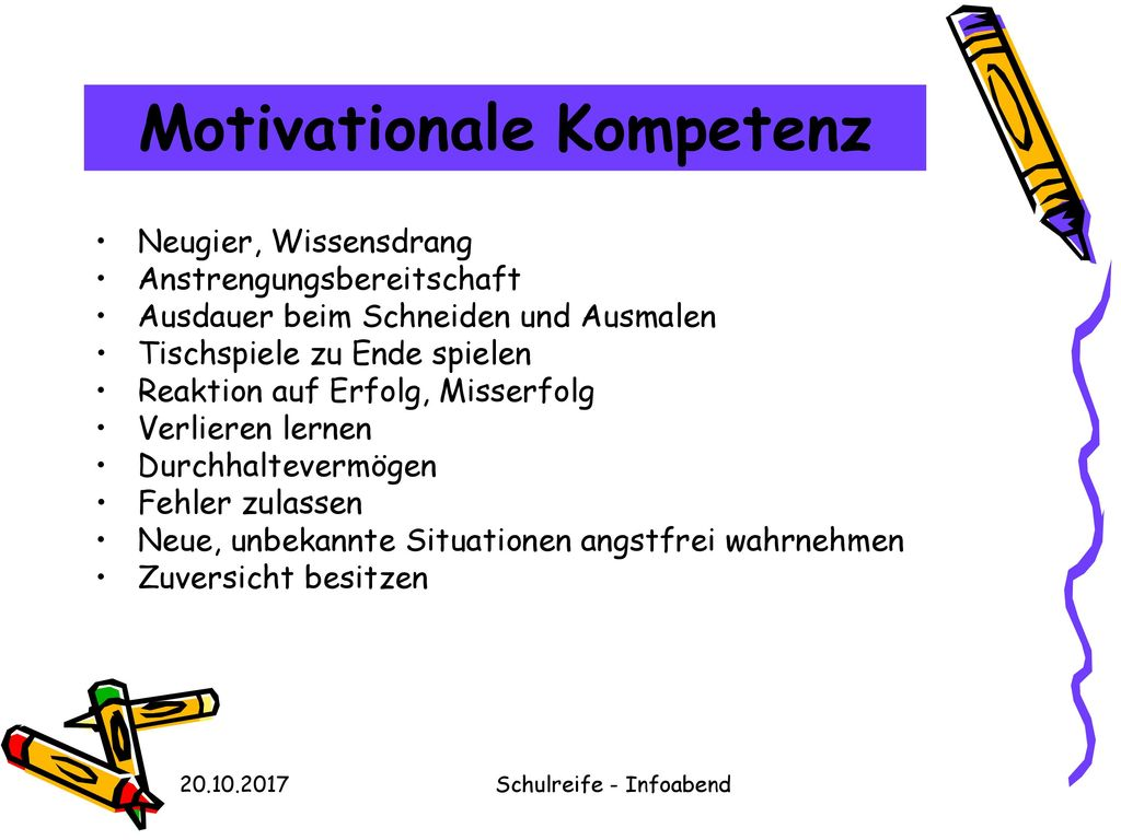 Motivationale Kompetenz