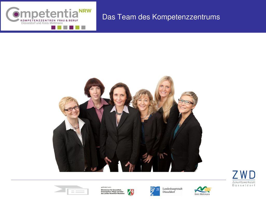Das Team des Kompetenzzentrums