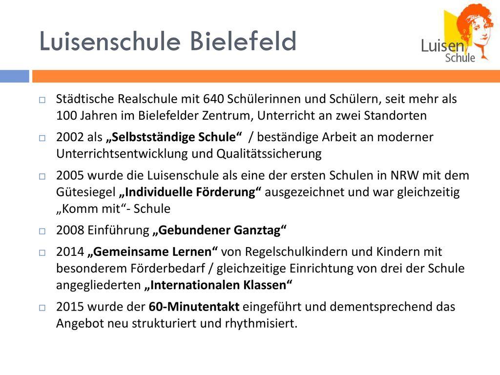 Luisenschule Bielefeld