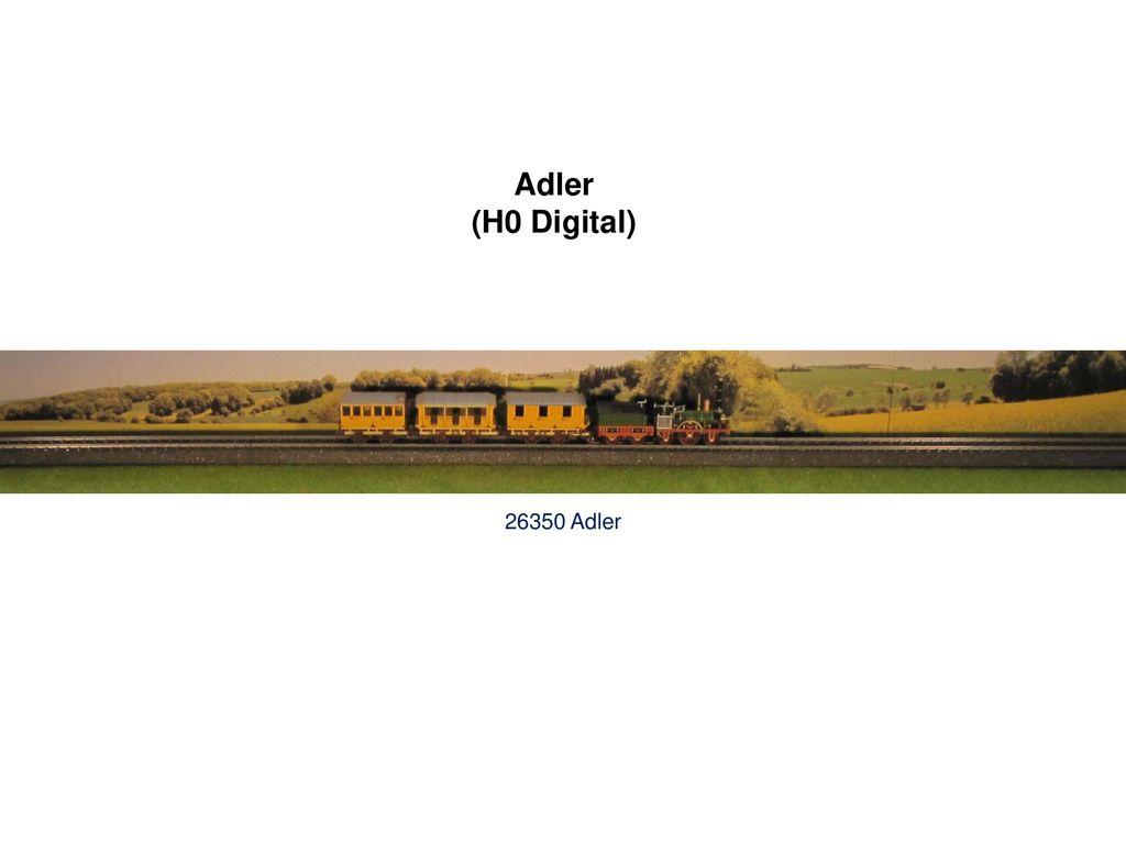 Adler (H0 Digital) 26350 Adler