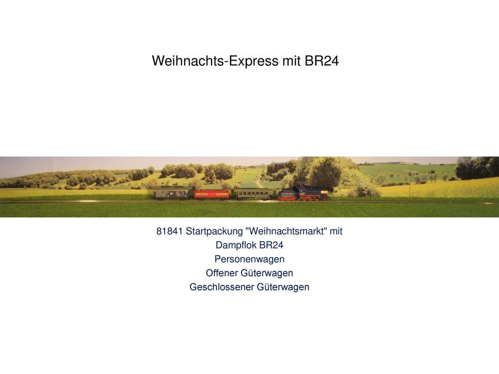 Weihnachts-Express mit BR24