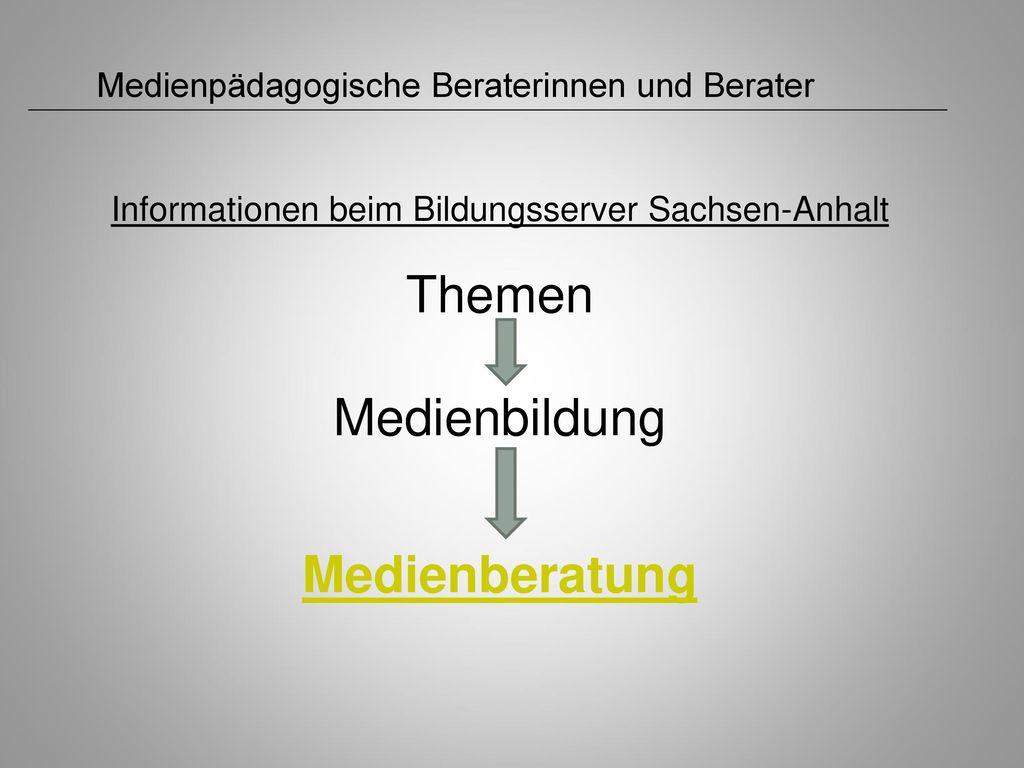 Informationen beim Bildungsserver Sachsen-Anhalt