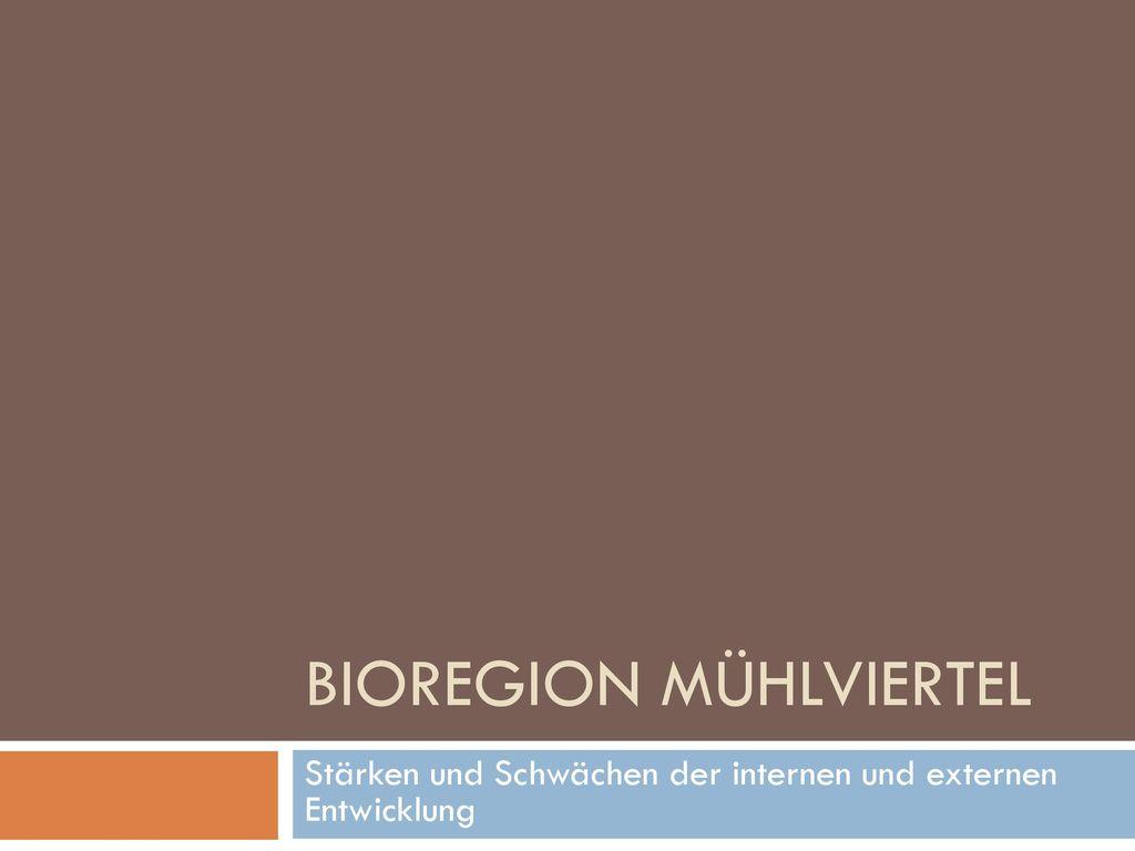 Bioregion Mühlviertel