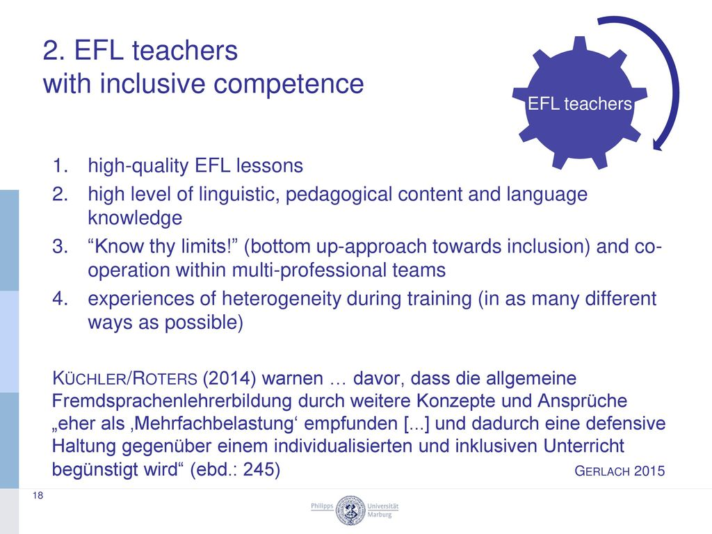 2. EFL teachers with inclusive competence