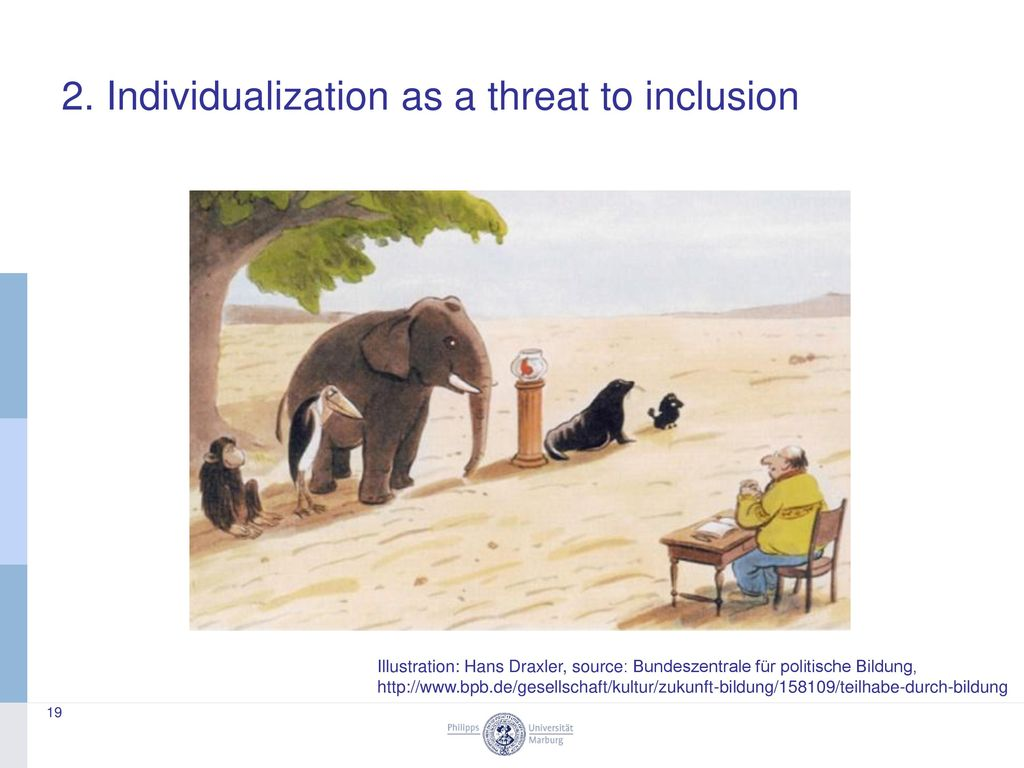 2. Individualization as a threat to inclusion