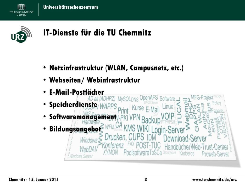 IT-Dienste für die TU Chemnitz